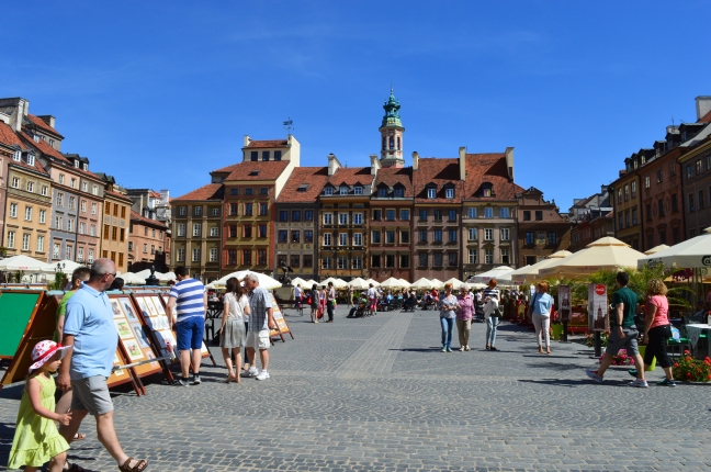 Market Day in Warsaw
