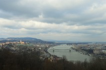 Views of Budapest from Gellert Hill