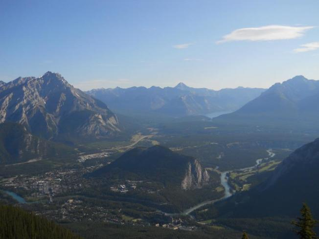 Views from Sulphur Mountain